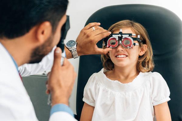 retinoscopía infantil